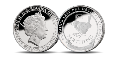 Countdown to Decimal Day - Farthing Half Crown