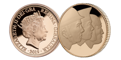 The Official Merchant Navy Association D-Day 75 Quarter Sovereign