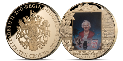 The Dame Vera Lynn Giant Portrait Coin