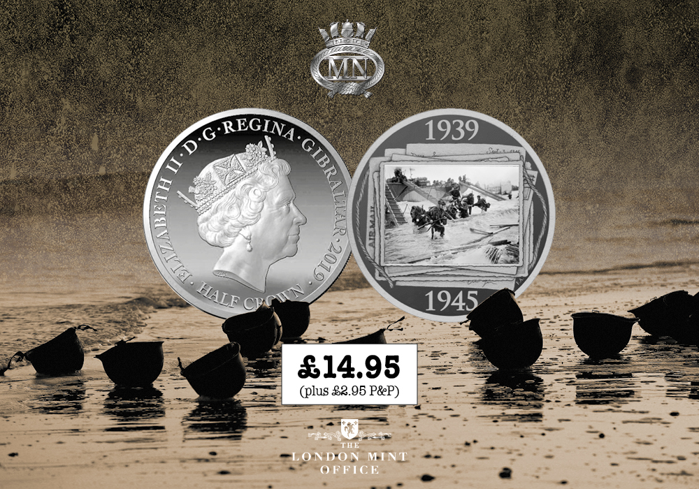 The Official D-Day 75 Anniversary Coin