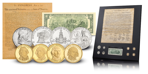 Declaration of Independence coin set - American History - The London ...