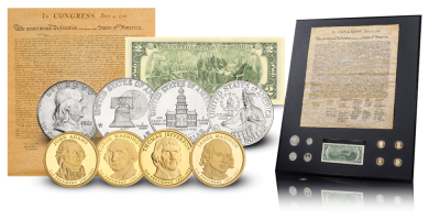 Declaration of Independence coin set