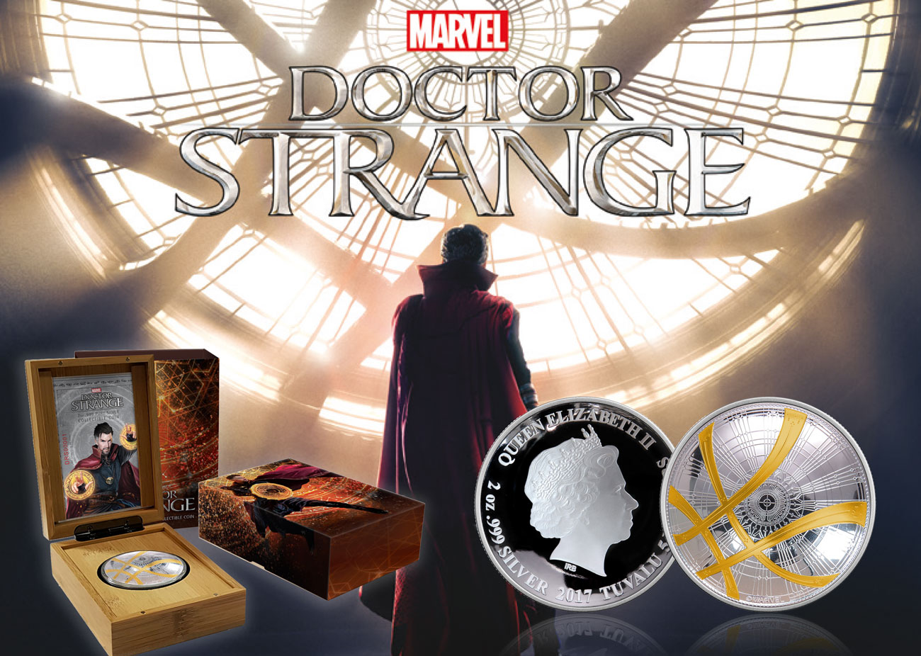 The 2017 Doctor Strange Silver Coin - 3 Instalments of £99