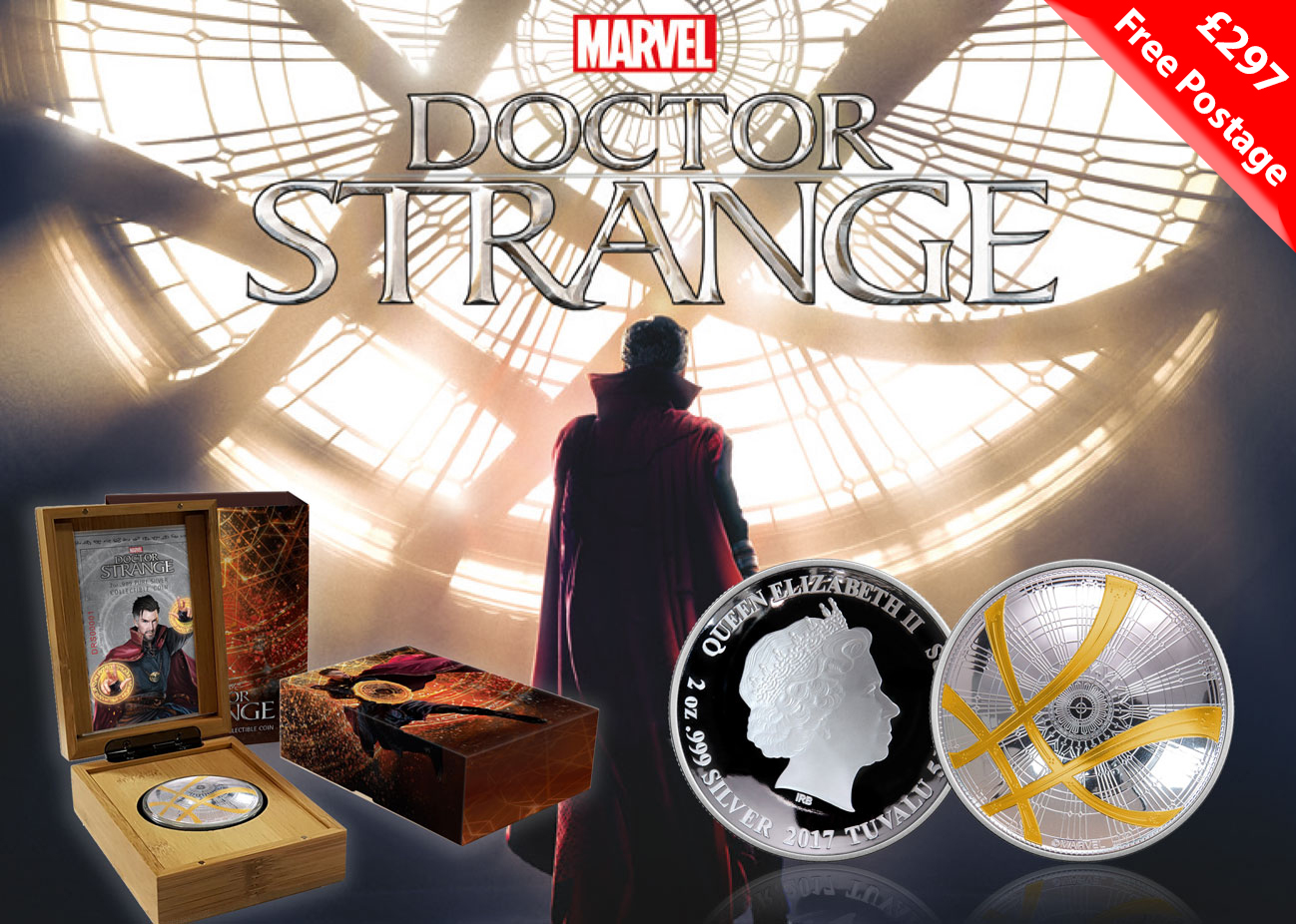 The 2017 Doctor Strange Silver Coin