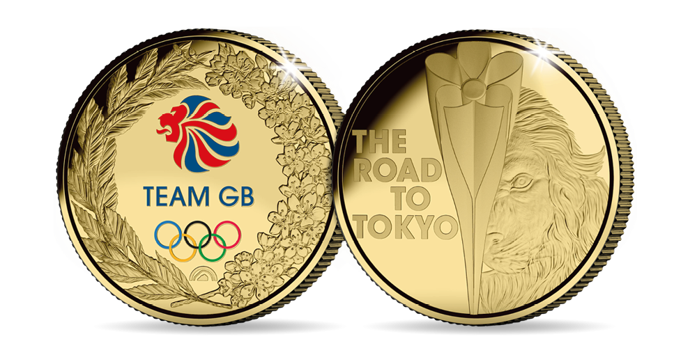 This fantastic limited-edition medal allows you to be a part of Olympic history.