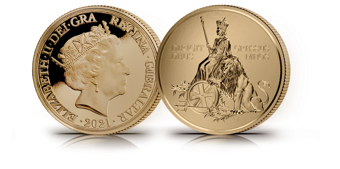 Her Majesty Queen Elizabeth II sits along side a lion which symbolises great beauty, strength and endurance – three attributes shared by our current queen