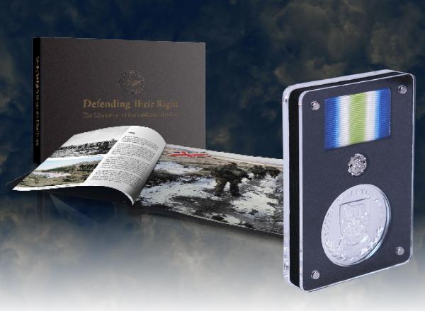 Falklands Conflict South Atlantic Medal