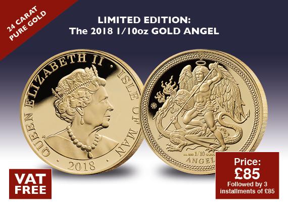 Gold Angel 2018 VAT FREE