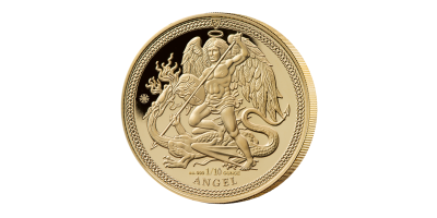 The 2018 1/10 oz. Gold Angel