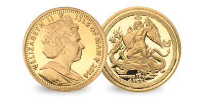 The 1/10 oz  Gold Angel with 30th Anniversary Privy Mark