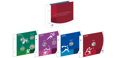 The Official Japan Mint 8 Coin Paralympic Set