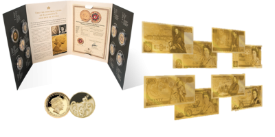 The Great British Coins and Bank Note Set