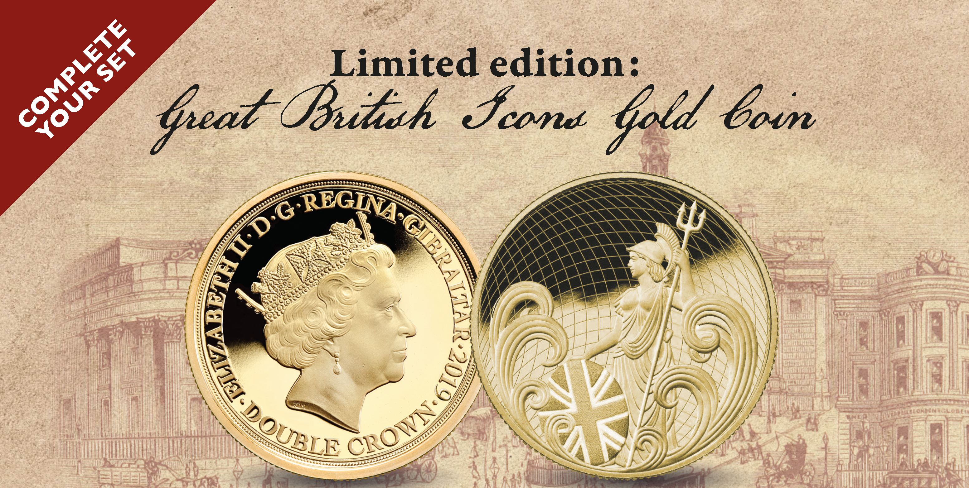 Great British Icons Gold Coin
