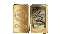 RAF 24 carat gold layered Ingot