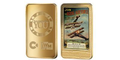 Official Imperial War Museums 'Join the Royal Air Force' Ingot