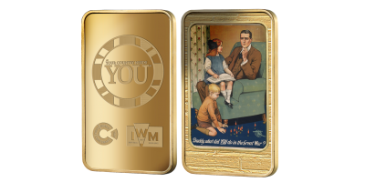 Official Imperial War Museums 'Daddy, what did you do in the war?' Ingot