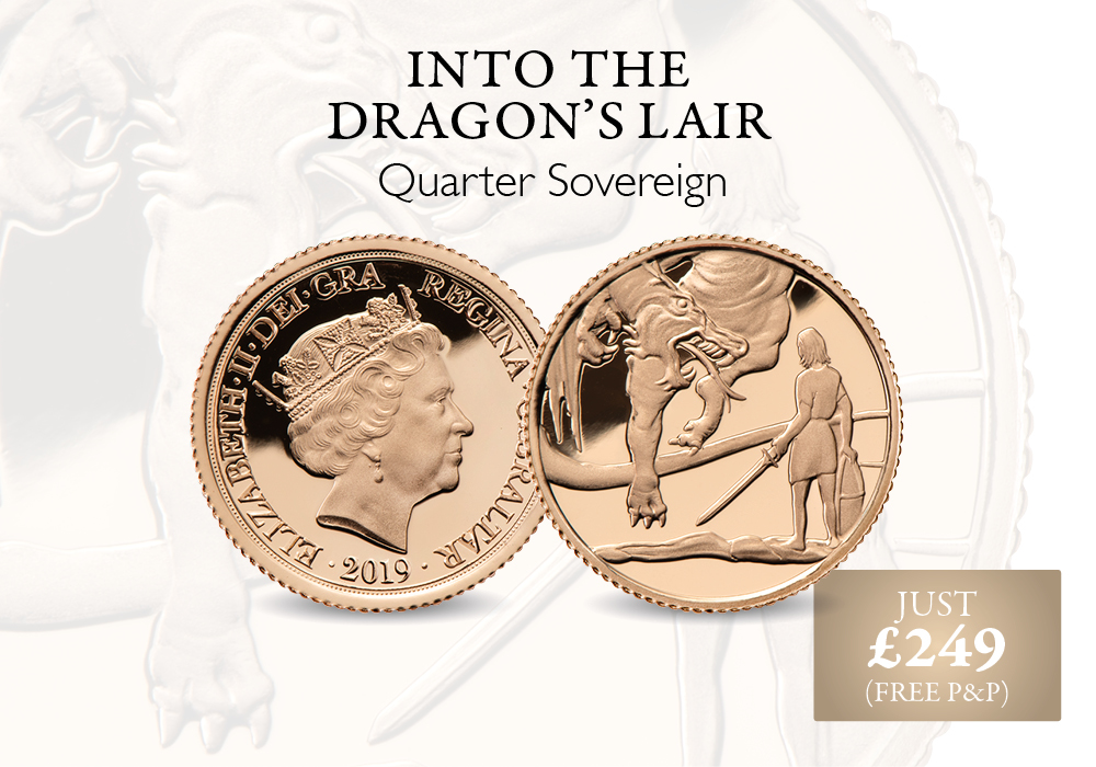 Into the Dragon's Lair - Quarter Sovereign