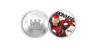 Iron Man Light Up Coin