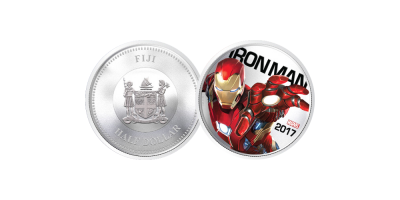 Iron Man Light Up Coin