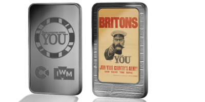 The Official Imperial War Museums 'Britons. Join Your Country's Army' Ingot Premium Pack