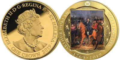"""Wellington The Life & Legacy """"They Have Arrived"""" Coin"""