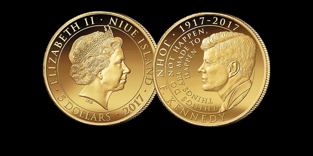 The John F. Kennedy Ten Ounce Gold Coin