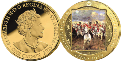 """Wellington The Life & Legacy """"Scotland Forever!"""" Coin"""