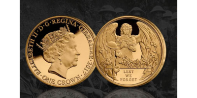 Lest We Forget Gold Plated 2017