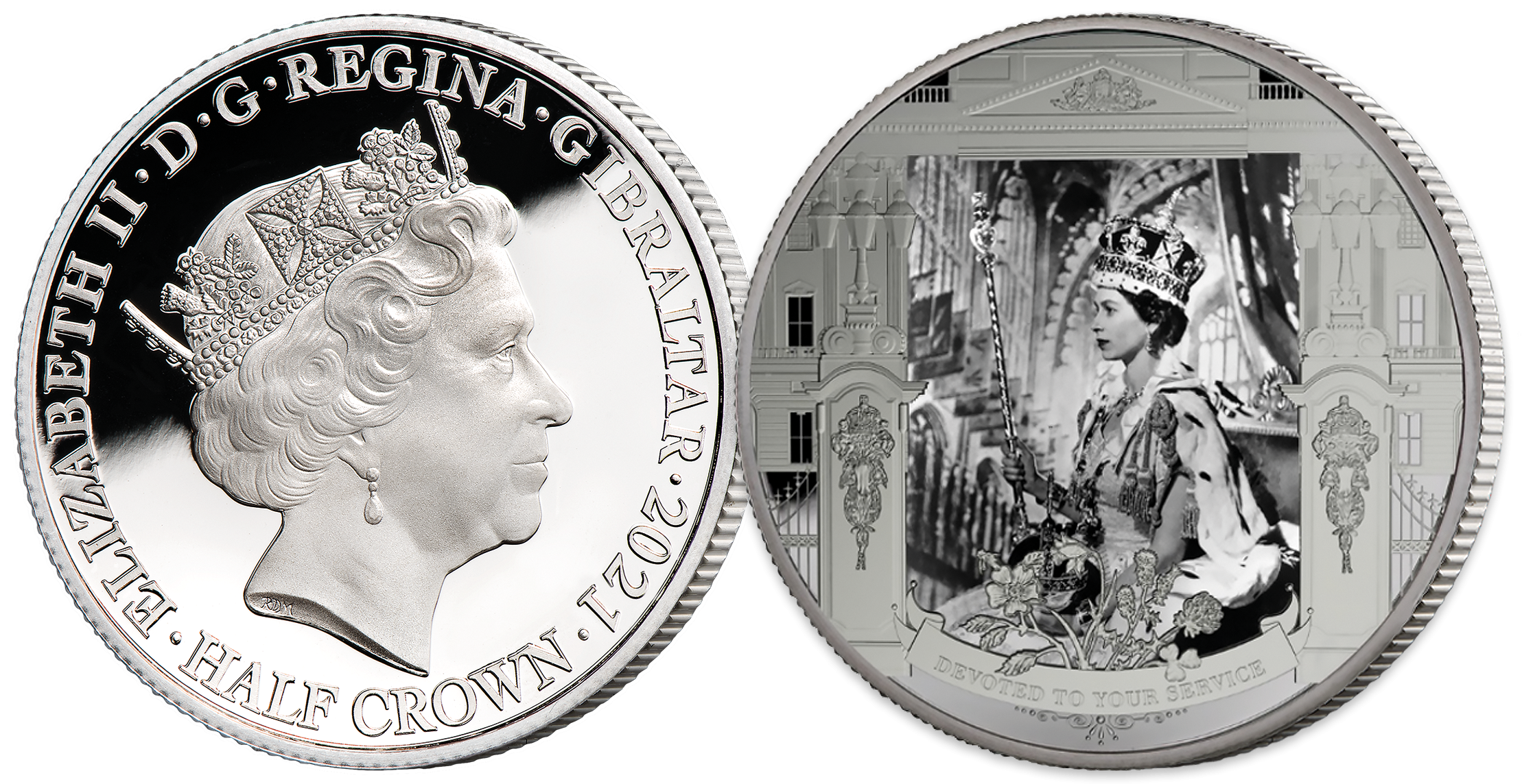The photograph featured on the coin was taken on June 2nd, 1953, marking the formal  beginning of what would become the longest reign in British history