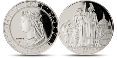 The Official Smithsonian's 'London & The Lion' 1 oz. Silver Commemorative