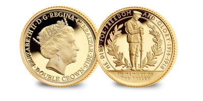 World War I Centenary 'The Lone Soldier' Gold Coin