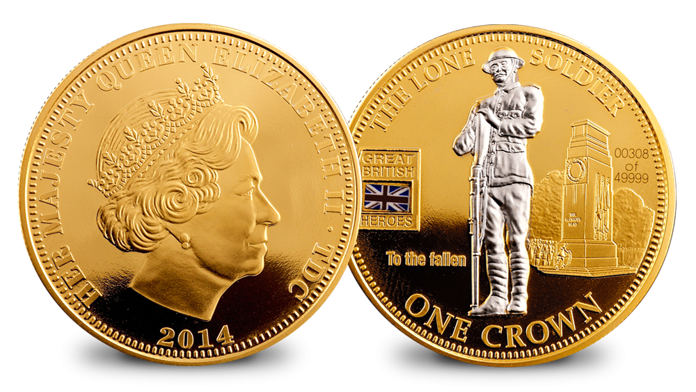 The Lone Soldier Crown Coin