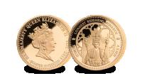 Longest Reigning Monarch Gold Quarter Sovereign