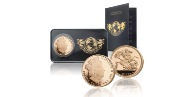 Magnificent 7 - The 2016 Royal Mint 1/2 Sovereign in Bar