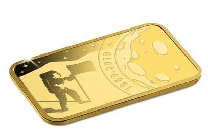 Moon Landing Gold Ingot