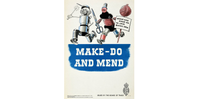 The 'Make-Do and Mend!' Poster