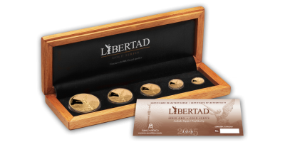 Mexico Gold Libertad Set 2015