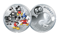 Mickey Mouse Through The Ages - 5oz Silver Proof Coin