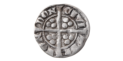 Original King Edward I Silver Penny from the 1877 Montrave Hoard - 1279-1307