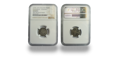 Montrave Hoard Penny Minted in Canterbury -  NGC Slabbed