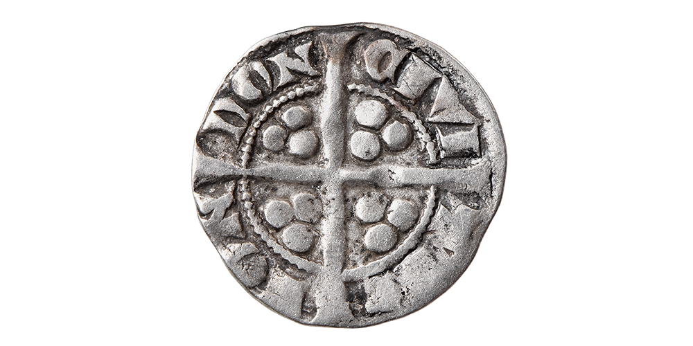 King Edward I Silver Penny from the 1877 Montrave Hoard
