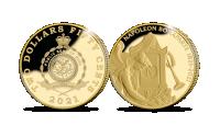 Napoleon 0.5g gold commemorative coin