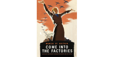 The 'Come into the Factories' Poster