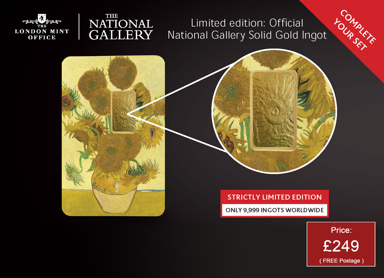 National Gallery Solid Gold Ingot