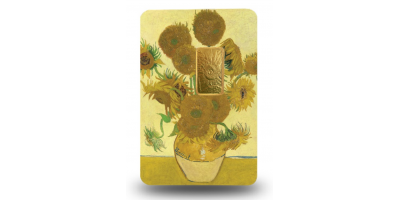 National Gallery - Sunflowers Solid Gold Ingot