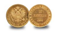 Finnish 10 Markkaa 1905