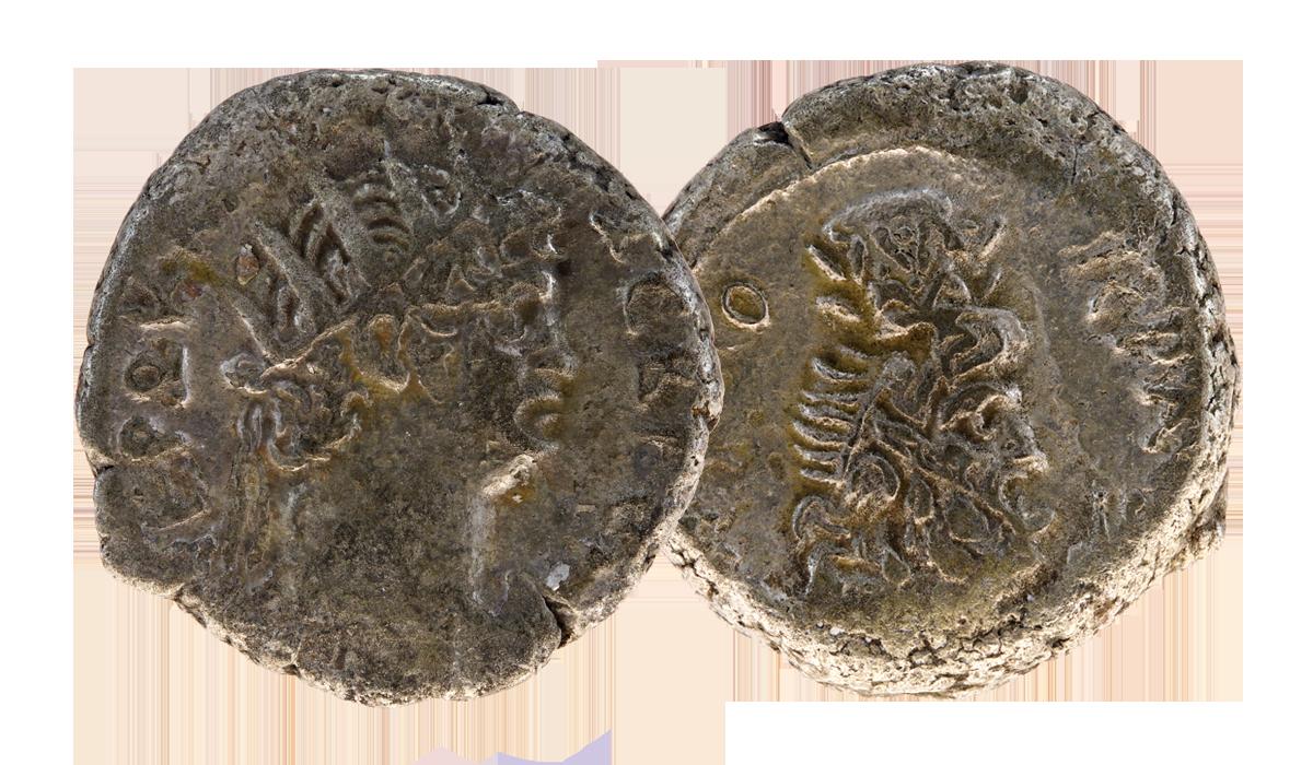 Original Nero Silver Tetradrachm Coin - nearly 2,000 years old