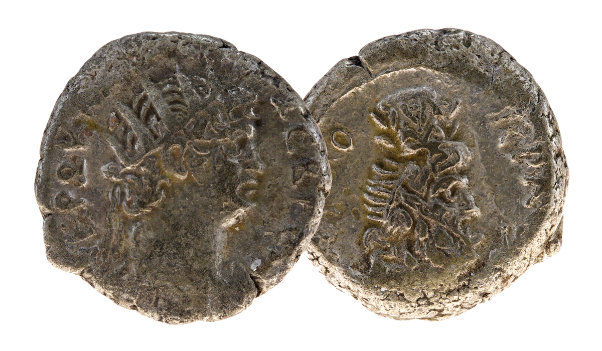 Original Nero Silver Tetradrachm Coin - nearly 2,000 years old