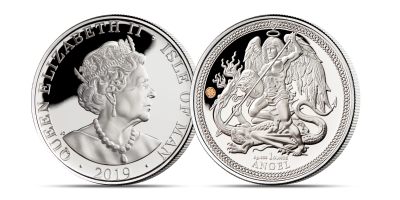 The 1 oz. Silver Angel 2019