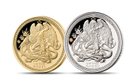 Gold and Silver 2 Coin Set